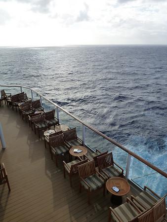 Day 2 - At sea