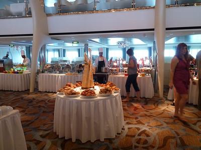 MDR sea day brunch