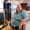 Mom in the Grand Foyer