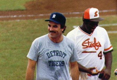Ever the Tigers fan.