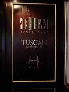 Specialty restaurants lobby