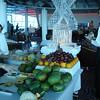 Captain's Club Celebration dessert and fruit