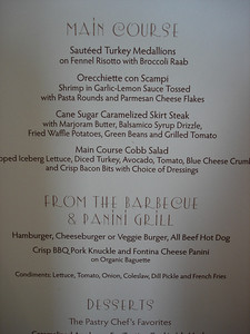 Lunch menu, day 2