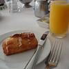Cheese danish & orange juice
