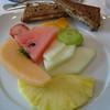 Fresh fruit and walnut raisin bread