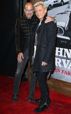 John Varvatos & Billy Idol