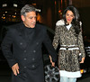 George Clooney, Amal Clooney, and Nina Bruce Warren