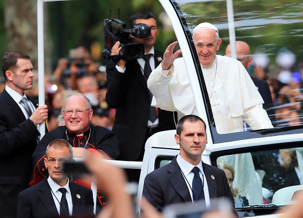 Pope Francis and Cardinal Egan