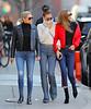Gigi Hadid and Bella Hadid, Yolanda Foster