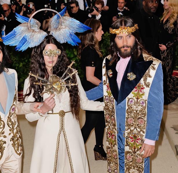 Jared Leto and Lana Dey Rey