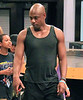 Non-Exclusive<br /> 2011 Dec 28 - Dave Chapelle licks ice cream with his kids and shows off his new muscles while vacationing in the Bahamas. Dave is with his wife Elaine Chappelle, sons Ibrahim Chappelle and Suleyman Chappelle, daughter Sonal Chappelle.. Photo Credit Jackson Lee