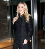 Non-Exclusive<br /> 2012 Jan 5 - Kristen Bell arrives at the 'David Letterman Show' in NYC. Photo Credit Jackson Lee