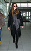 Non-Exclusive<br /> 2012 Jan 12 - Kate Beckinsale departs JFK Airport in NYC. Photo Credit Jackson Lee