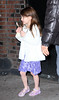 Non-Exclusive<br /> 2012 Jan 13 - Katie Holmes and Suri Cruise depart Mary Poppins Show on Broadway in NYC. Photo Credit Jackson Lee