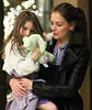 Non-Exclusive<br /> 2012 Jan 13 - Katie Holmes takes Suri Cruise to a Broadway show in NYC. Photo Credit Jackson Lee