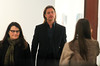 Non-Exclusive<br /> 2012 Feb 1 - Brad Pitt visits Lehmann Maupin Gallery in NYC. Photo Credit Jackson Lee