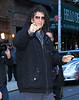 Non-Exclusive<br /> 2012 Feb 1 - Howard Stern arrives at the 'David Letterman Show' in NYC. Photo Credit Jackson Lee