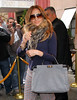 Non-Exclusive<br /> 2012 Feb 1 - Jennifer Lopez checks out of her hotel in NYC. Photo Credit Jackson Lee