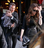 Non-Exclusive<br /> 2012 Feb 12 - David Beckham, Victoria Beckham, Harper Beckham out and about in NYC. Photo Credit Jackson Lee