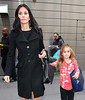 Non-Exclusive<br /> 2012 Feb 14 - Courteney Cox and Coco Arquette walk on the street of NYC. Photo Credit Jackson Lee
