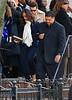 Non-Exclusive<br /> 2012 Feb 18 - Alicia Keys and mom Teresa Augello attend Whitney Houston's funeral in Newark, NJ. Photo Credit Jackson Lee