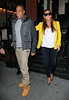 Non-Exclusive<br /> 2012 Feb 20 - Beyonce and Jay-Z are all smiles when departing Redfarm where they had dinner after attending the Knicks-Nets game in NYC. Photo Credit Jackson Lee