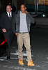 Non-Exclusive<br /> 2012 Feb 20 - Beyonce and Jay-Z arrive for dinner at Redfarm after attending the Knicks-Nets game in NYC. Photo Credit Jackson