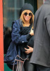 Non-Exclusive<br /> 2012 Feb 25 - First candid shots of Beyonce and baby Blue Ivy Carter out and about in NYC after having lunch at St. Ambroeus with Jay-Z.  Beyonce wasn't feeling well and after eating for only 30 minutes they left the restaurant. Photo Credit Jackson Lee