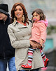 Exclusive<br /> 2012 Mar 5 - Farrah Abraham and estranged mom Debra Danielson take daughter Sophia on a walk in NYC.  Debra was charged in 2010 for assaulting Farrah, who subsequently moved out with her daughter.  It seems the grandma-mom-daughter trio have certainly reconciled based on how happy everyone looked as they take in the Big Apple together!  Sophia even petted the horse and posed for pictures! Photo Credit Jackson Lee