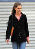 Non-Exclusive<br /> 2012 Mar 20 - Katie Holmes is all smiles while taking a long walk in NYC. Photo Credit Jackson Lee