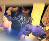 Non-Exclusive<br /> 2012 Mar 23 - Suri Cruise and Katie Holmes at the Build-a-Bear Workshop in NYC. Photo Credit Jackson Lee