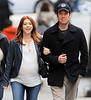 Non-Exclusive<br /> 2012 Apr 3 - Alyson Hannigan and Alex Denisof go for a romantic stroll hand-in-hand in NYC. Photo Credit Jackson Lee