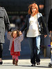 Non-Exclusive<br /> 2012 Apr 3 - Alyson Hannigan and daughter Satyana go for a walk in NYC. Photo Credit Jackson Lee