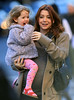 Non-Exclusive<br /> 2012 Apr 6 - Alyson Hannigan and daughter Satyana go for a walk in sunny NYC. Photo Credit Jackson Lee