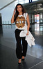 Non-Exclusive<br /> 2012 Apr 6 - Kim Kardashian departs NYC via JFK airport after spending the week with Kanye West arrives at JFK Airport in NYC. Photo Credit Jackson Lee