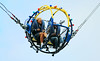 Non-Exclusive<br /> 2012 Apr 11 - Rita Ora has a blast on the legendary Cyclone, and the bungee sphere ride without Rob Kardashian at Coney Island, Bklyn after her photo shoot. Photo Credit Jackson Lee