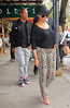 Non-Exclusive<br /> 2012 Apr 15 - Beyonce and Jay-Z eat at Bar Pitti in NYC. Photo Credit Jackson Lee