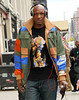 Non-Exclusive<br /> 2012 Apr 23 - Lamar Odom goes shopping with the Kardashians at Jeffery in NYC. Photo Credit Jackson Lee