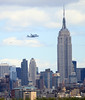 Non-Exclusive<br /> 2012 Apr 27 - Shuttle Enterprise on 747 Shuttle Carrier Aircraft flies over the Statue of Liberty and Manhattan, NYC. Photo Credit Jackson Lee
