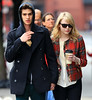 Non-Exclusive<br /> 2012 May 3 - Emma Stone and Andrew Garfield take romantic stroll for coffee in NYC. Photo Credit Jackson Lee