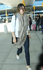 NON-Exclusive<br /> 2012 May 6 - Katharine McPhee arrives at JFK Airport in NYC. Photo Credit Jackson Lee