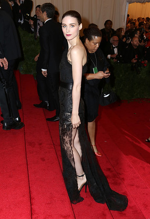 """Non-Exclusive<br /> 2011 May 7 - Celebrity arrivals at the 2012 Metropolitan Museum Gala """"Schiaparelli and Prada: Impossible Conversations"""" in NYC. Photo credit Jackson Lee"""