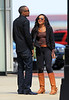 Exclusive<br /> 2012 May 13 - Bobbi Kristina Brown and boyfriend/adopted brother Nick Gordon visit Whitney Houston's grave on Mother's Day and filmed the visit for her new reality show 'The Houston Family Chronicles' with her family members Pat Houston and Gary Houston in Newark, NJ.  After taping, Bobbi and Nick headed to Newark Airport with her puppy in tow.  Photo Credit Jackson Lee