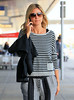 Non-Exclusive<br /> 2012 May 16 - Heidi Klum arrives at JFk Airport in NYC. Photo Credit Jackson Lee