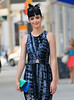 Non-Exclusive<br /> 2012 May 18 - Krysten Ritter wears a flowy summer dress while walking in the streets of TriBeCa, NYC. Photo Credit Jackson Lee