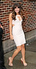 Non-Exclusive<br /> 2012 May 21 - Lea Michele departs 'David Letterman Show' in a tight mini dress in NYC. Photo Credit Jackson Lee