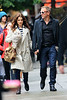 Non-Exclusive<br /> 2012 May 24 - Daniel Craig and Rachel Weisz take a romantic walk hand-in-hand to lunch at a Japanese restaurant in NYC. Photo Credit Jackson Lee
