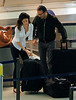 Exclusive<br /> 2012 May 31 - Jacques 'Arthur' Essebag and new girlfriend Mareva Galanter arrive at JFK Airport in NYC. Photo Credit Jackson Lee