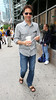 Non-Exclusive<br /> 2012 June 8 - Eric McCormack buys a shake in NYC. Photo Credit Jackson Lee