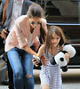 Non-Exclusive<br /> 2012 June 15 - Katie Holmes and Suri Cruise go to Jacques Torres Chocolatier in NYC. Photo Credit Jackson Lee
